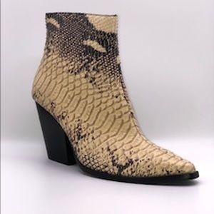 Jeffrey Campbell Elevated Snake Bootie